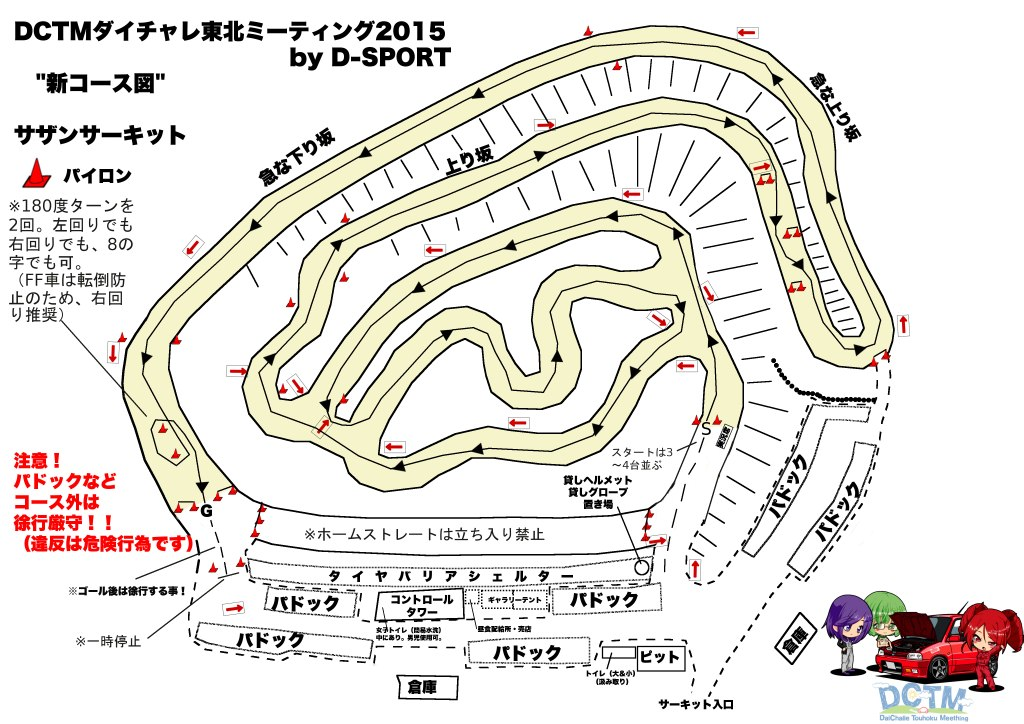 DCTM2015新コース図