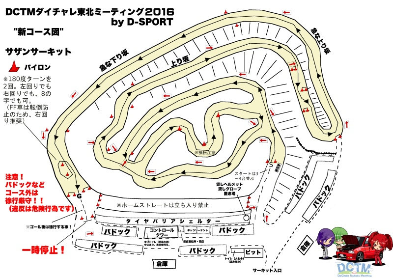 DCTM2016新コース図